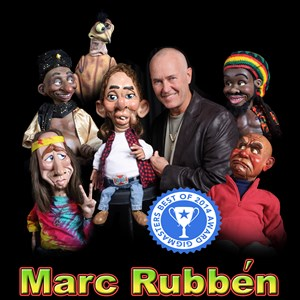 Twin Brooks Ventriloquist | BEST Corporate Comedian Ventriloquist Marc Rubben