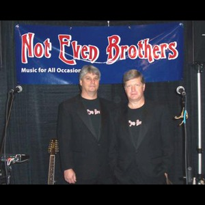 Saint George Acoustic Duo | Not Even Brothers