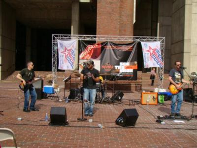 City Hall Plaza, Harborfest 2012