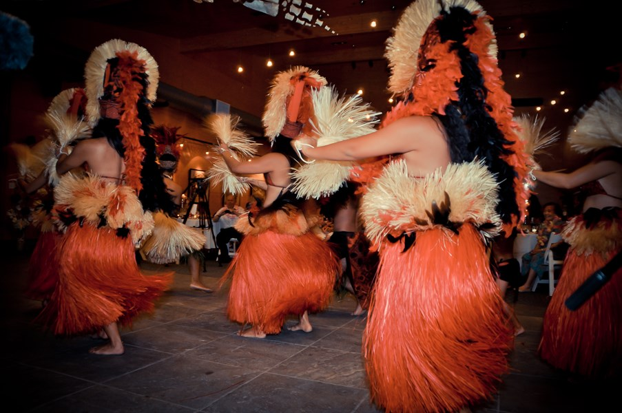 Pacific Island Dancers