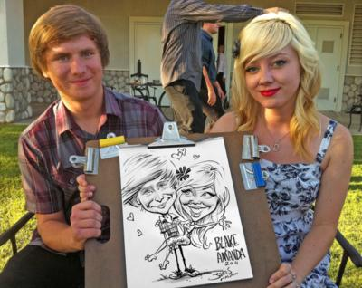 Caricatures By James Malia | Thousand Oaks, CA | Caricaturist | Photo #9