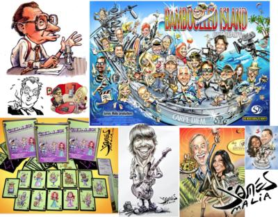 Caricatures By James Malia | Thousand Oaks, CA | Caricaturist | Photo #23