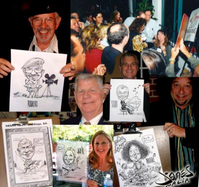 Caricatures By James Malia | Thousand Oaks, CA | Caricaturist | Photo #25
