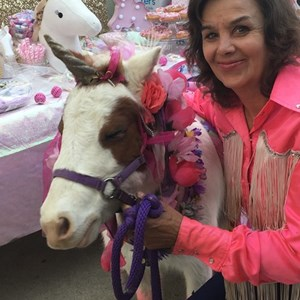 Anaheim Animal For A Party | Cherry The Miniature Trick Horse & Nancy Degan