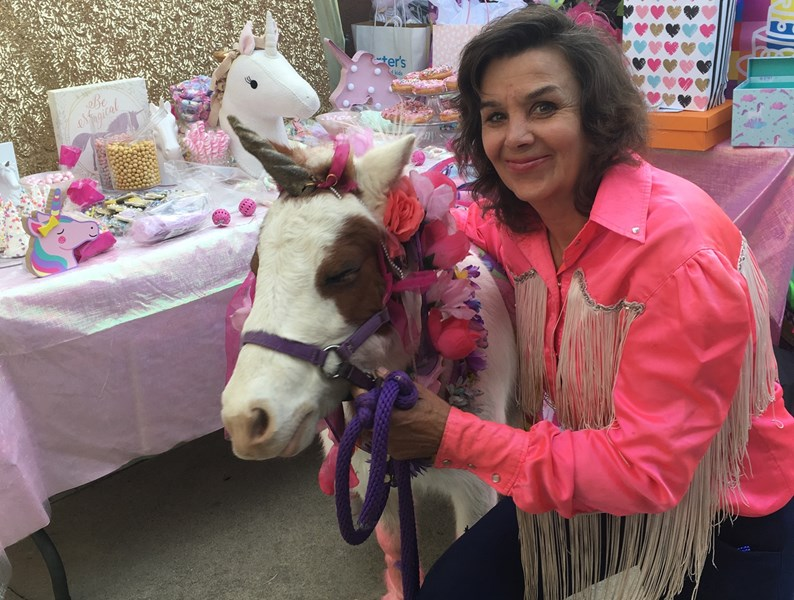 Cherry The Miniature Trick Horse & Nancy Degan - Animal For A Party - Santa Clarita, CA