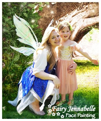 Fairy Jennabelle - Face Painter - Alexandria, VA