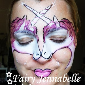 Lincoln Face Painter | Fairy Jennabelle