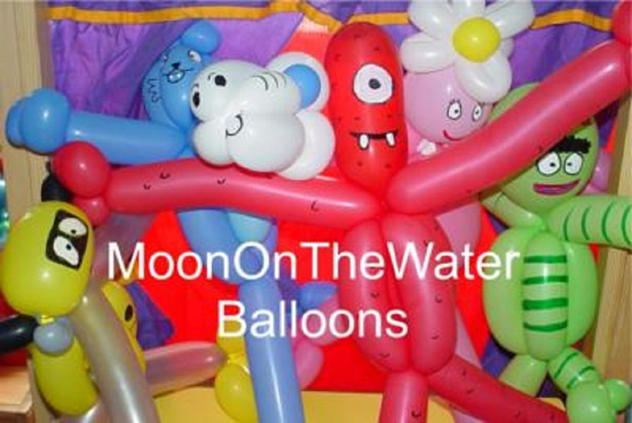 MoonOnTheWater: Face Painters, Balloons, & More