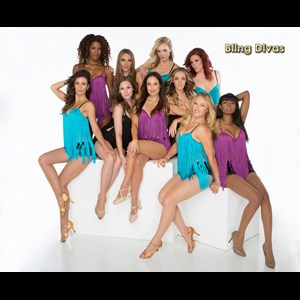 Fletcher Dance Group | BLING DIVAS Showgirls Burlesque Can-Can Cabaret