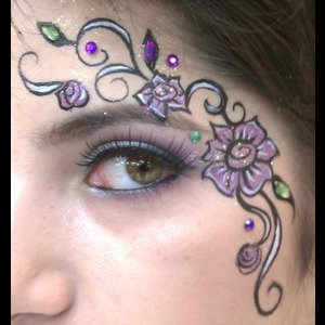 French Gulch Princess Party | Celeste Oda, Master Face-Painter