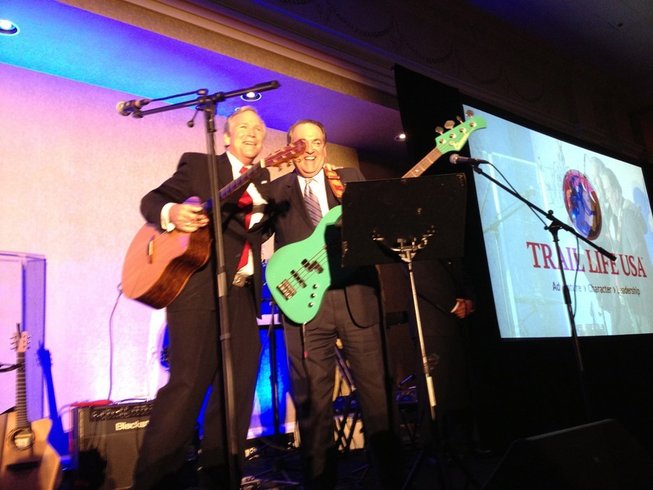 Jamming with Gov Mike Huckabee