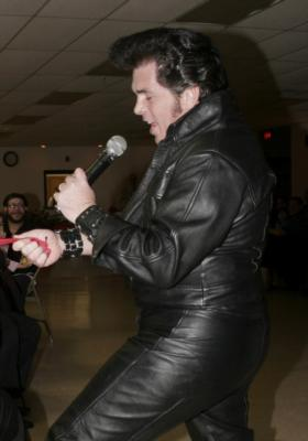"Rob ""E"" Lutz as ELVIS, BUDDY HOLLY or NEIL DIAMOND 