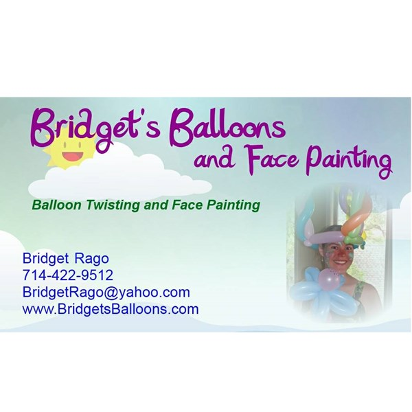 Bridget's Balloons - Face Painter - Anaheim, CA