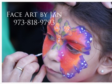 Face Art By Jan - Face Painter - Caldwell, NJ