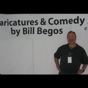 Gladwin Caricaturist | Caricatures & Comedy By Bill Begos
