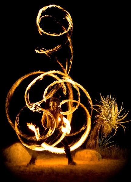 ZOR - Fire Dancer - Los Angeles, CA