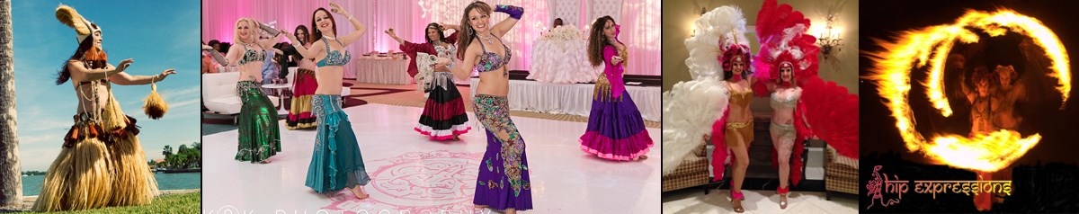Hip Expressions Belly Dance, Hula, Samba & Fire!