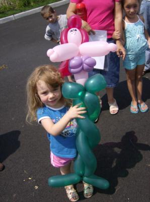 Clancy D. Clown & Lolli | Easton, PA | Balloon Twister | Photo #10