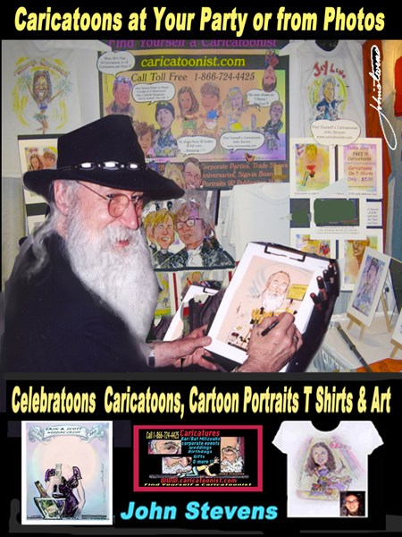 Caricatoonist - Caricaturist - New York City, NY