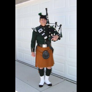 Beech Grove Bagpiper | David Cormalleth