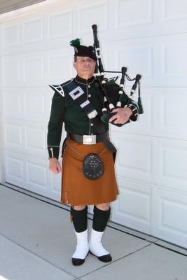 David Cormalleth | Chicago, IL | Bagpipes | Photo #1