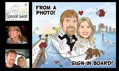 Digital Caricatures Live | Miami Beach, FL | Caricaturist | Photo #3