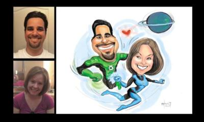 Digital Caricatures Live | Miami Beach, FL | Caricaturist | Photo #22