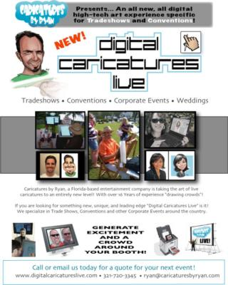 Digital Caricatures Live | Miami Beach, FL | Caricaturist | Photo #23