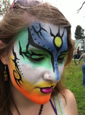 Boggles D Mind & Friends & The Amazing Facepainter | Austin, TX | Face Painting | Photo #7