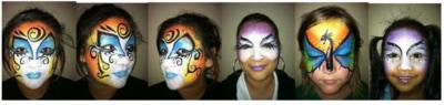 Boggles D Mind & Friends & The Amazing Facepainter | Austin, TX | Face Painting | Photo #24