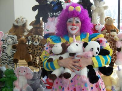 Violet The Clown And Teddy Town | Stoughton, MA | Clown | Photo #5