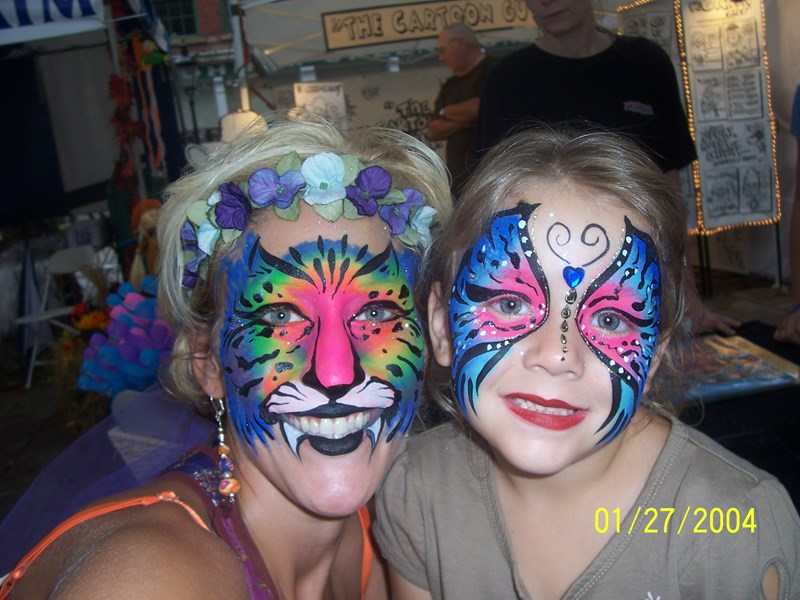 Fabulous Faces By Jen - Face Painter - Cincinnati, OH