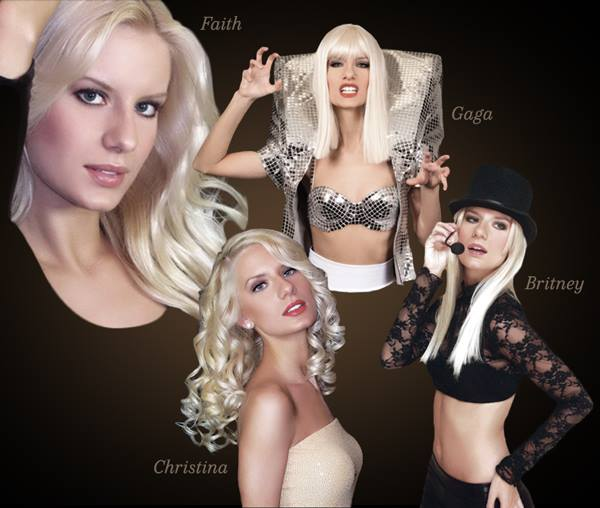 Many Faces of Christina Shaw - Lady Gaga Tribute Act - Las Vegas, NV
