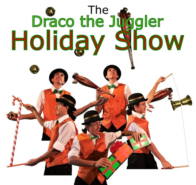 My holiday juggling show