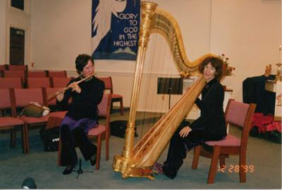 Harpist Barbara Bew Crowley | Atlantic City, NJ | Harp | Photo #8