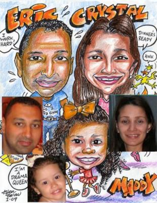 Allen E. Enlow | Brooklyn, NY | Caricaturist | Photo #1