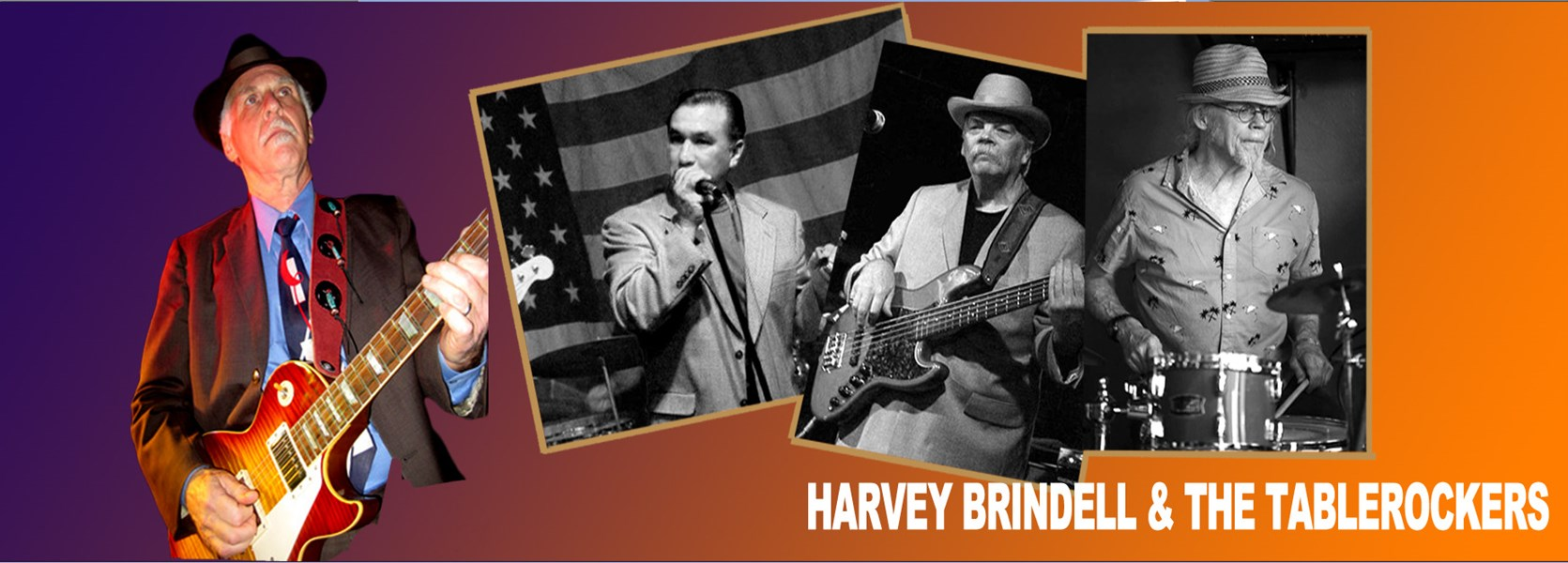 Harvey Brindell & The Tablerockers - Blues Band - Portland, OR