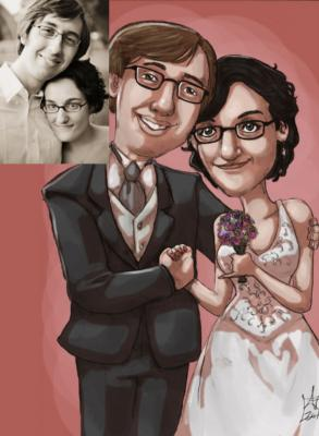 Ash Jackson & Andrew Richardson | Hopkinton, MA | Caricaturist | Photo #21
