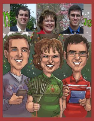 Ash Jackson & Andrew Richardson | Hopkinton, MA | Caricaturist | Photo #12