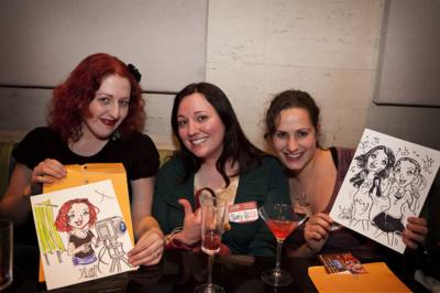 Ash Jackson & Andrew Richardson | Hopkinton, MA | Caricaturist | Photo #17