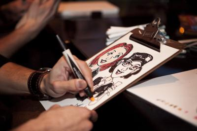 Ash Jackson & Andrew Richardson | Hopkinton, MA | Caricaturist | Photo #19