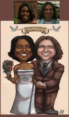 Ash Jackson & Andrew Richardson | Hopkinton, MA | Caricaturist | Photo #20