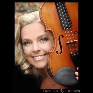 Orange Violinist | Jessica Haddy