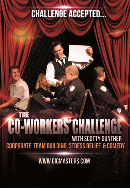 The  Co-Workers' Challenge: team building - Motivational Speaker - Tampa, FL