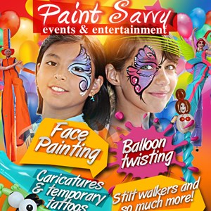 Asheville Face Painter | Paint Savvy