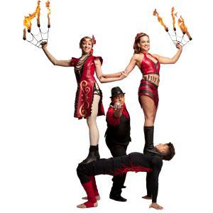 Orange Fire Dancer | Red Swan Entertainment
