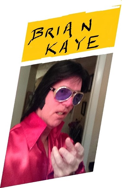 **Brian * Kaye** as 'ELVIS'  - Elvis Impersonator - Orlando, FL