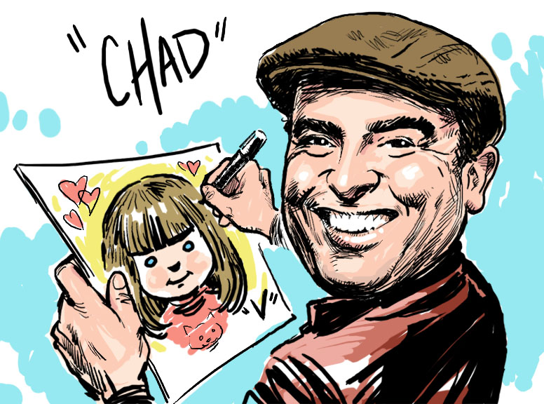 '5 Fun Minutes' Caricatures By Chad Straka - Caricaturist - Longmont, CO