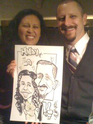 Edwards Entertainment | Blackwood, NJ | Caricaturist | Photo #3