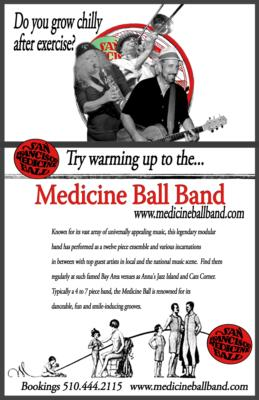 Medicine Ball Music  | Oakland, CA | Variety Band | Photo #15